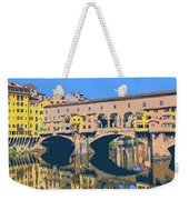 Ponte Vecchio Florence Weekender Tote Bag