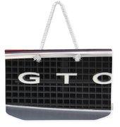 Pontiac Gto  Weekender Tote Bag