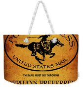 Pony Express Wanted Poster Weekender Tote Bag