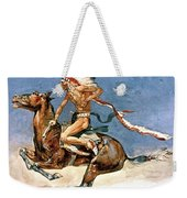 Pony War Dance Weekender Tote Bag by Frederic Remington