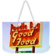 Poodle Dog Diner Weekender Tote Bag