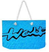 Pool Mural For Walts Pizza Marion Il Weekender Tote Bag