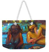 Pool Party Weekender Tote Bag