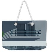 Pool Side Weekender Tote Bag