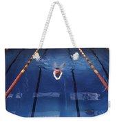 Pool Weekender Tote Bag