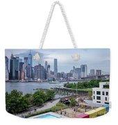 Pool With A View, Brooklyn, New York #130706 Weekender Tote Bag