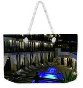 Poolside At The Pearl Weekender Tote Bag