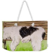 Pooped In The Park Weekender Tote Bag