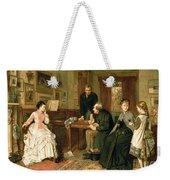 Poor Relations Weekender Tote Bag by George Goodwin Kilburne