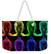 Pop Art Buddha  Weekender Tote Bag by Fabrizio Troiani