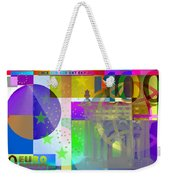 Pop-art Colorized One Hundred Euro Bill Weekender Tote Bag