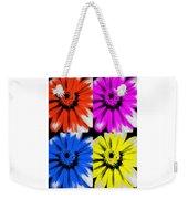Pop Art Petals Weekender Tote Bag