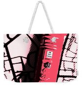 Pop Art Pillar Post Box Weekender Tote Bag