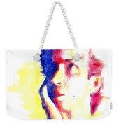 Pop Art Woman Portrait Weekender Tote Bag
