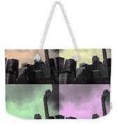 Pop City 2 Weekender Tote Bag