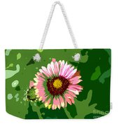 Pop Flower Work Number 23 Weekender Tote Bag