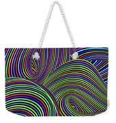 Pop Swirls Weekender Tote Bag