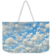 Popcorn Clouds Weekender Tote Bag