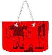Popeye Doll Patent 1932 In Red Weekender Tote Bag