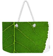 Poplar Leaf A Key To Biofuels Weekender Tote Bag