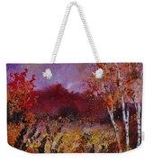Poplars In Autumn  Weekender Tote Bag