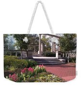 Popp Fountain Brickway Path Weekender Tote Bag