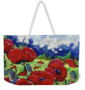 Poppies 003 Weekender Tote Bag