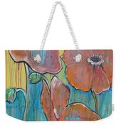 Poppies 3 Weekender Tote Bag