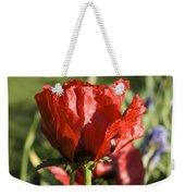 Poppies 5 Weekender Tote Bag