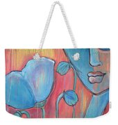 Poppies 7 Luna Let Me Go Weekender Tote Bag