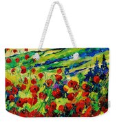Poppies 78 Weekender Tote Bag