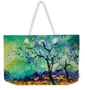 Poppies And Appletrees In Blossom Weekender Tote Bag