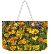 Poppies And Lupines Weekender Tote Bag