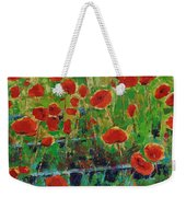 Poppies And Traverses 1 Weekender Tote Bag