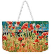 Poppies And Traverses 2 Weekender Tote Bag