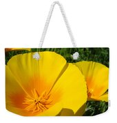 Poppies Art Poppy Flowers 4 Golden Orange California Poppies Weekender Tote Bag
