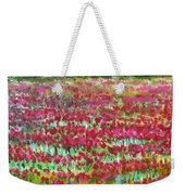 Poppies At Cedar Point Weekender Tote Bag