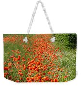 Poppies Awash Weekender Tote Bag