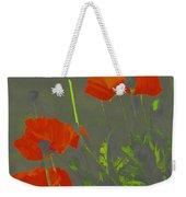 Poppies In Neon Weekender Tote Bag