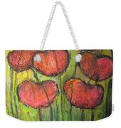 Poppies In Oil Weekender Tote Bag