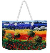Poppies In Provence Weekender Tote Bag