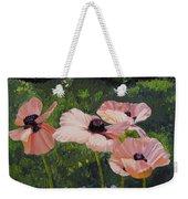 Poppies In The Sun Weekender Tote Bag