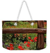 Poppies In The Texas Hill Country Weekender Tote Bag