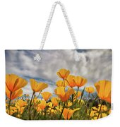 Poppies In The Wind Part Two  Weekender Tote Bag