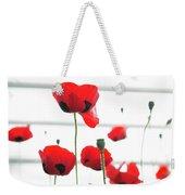 Poppies, Lovely Poppies Weekender Tote Bag
