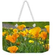 Poppies Meadow Summer Poppy Flowers 18 Wildflowers Poppies Baslee Troutman Weekender Tote Bag