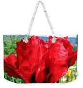 Poppies Plus Weekender Tote Bag