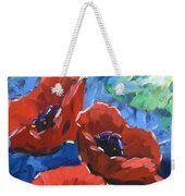 Poppies Splender Weekender Tote Bag