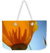 Poppies Sunlit Poppy Flower 1 Wildflower Art Prints Weekender Tote Bag