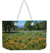 Poppies With A View At Oak Glen Weekender Tote Bag